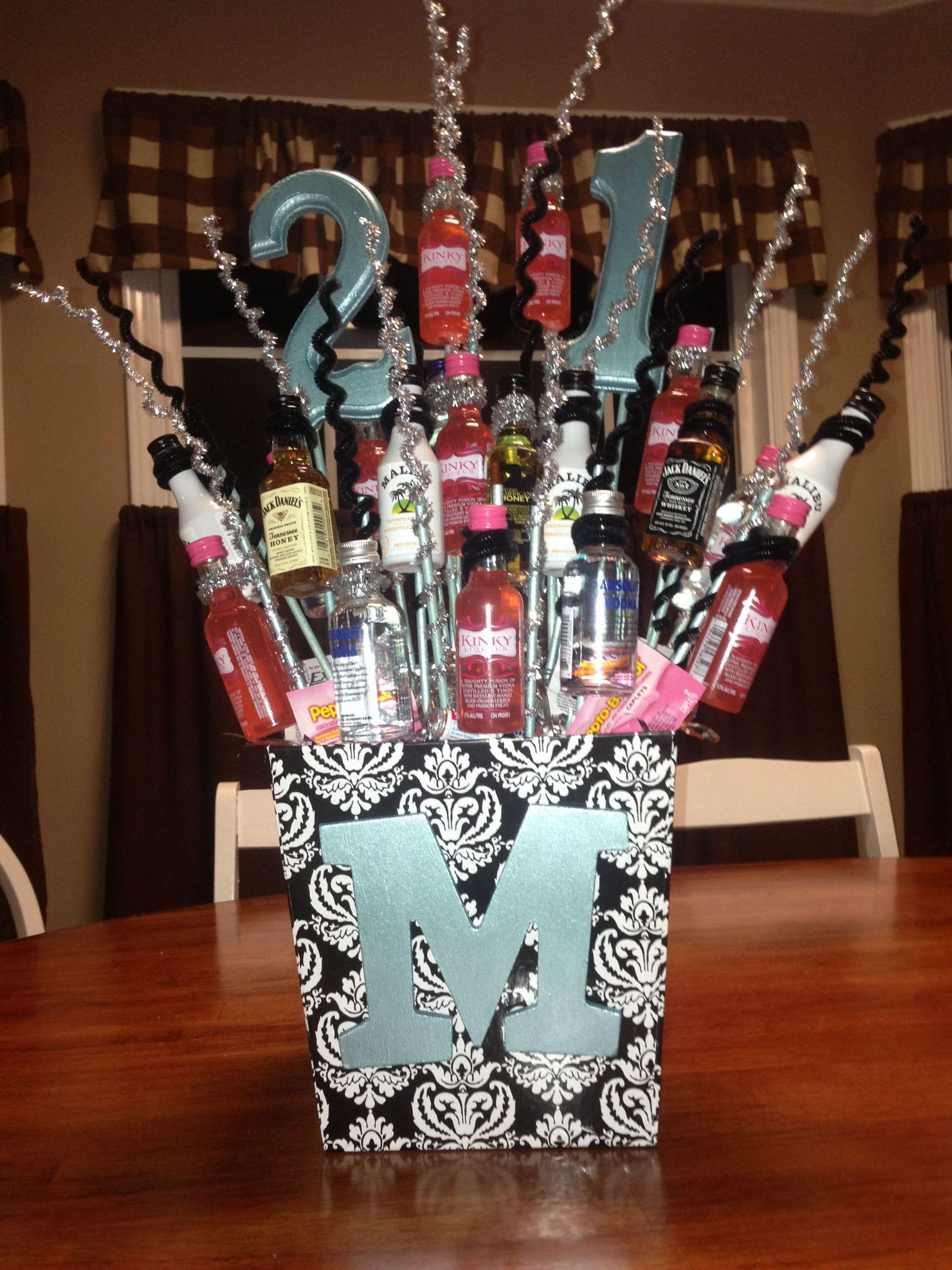 DIY 21St Birthday Gifts  21st birthday present idea 21 minis