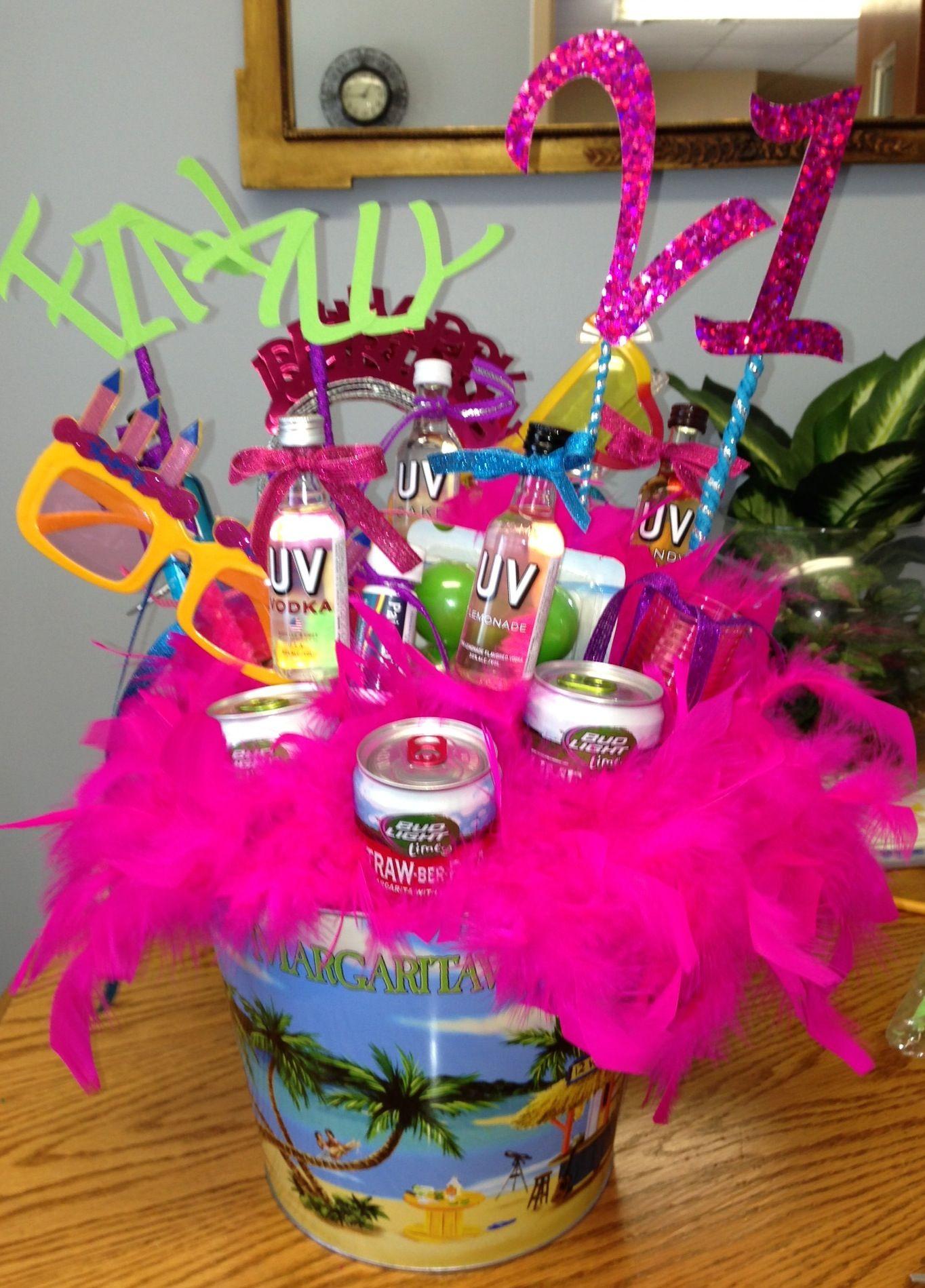 DIY 21St Birthday Gifts  21st Birthday t iDeAs&DiY