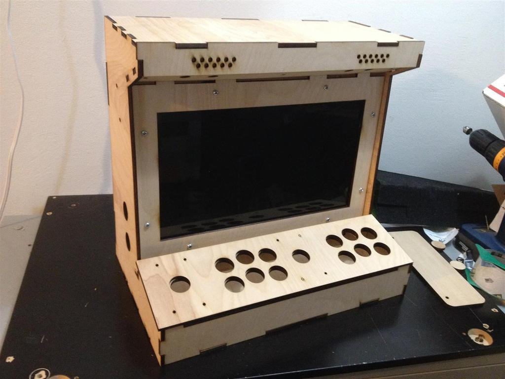 DIY Arcade Cabinet Kits  DIY Arcade Cabinet Kits more 2 Player Porta Pi