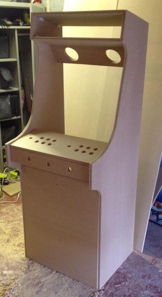 DIY Arcade Cabinet Kits  Flatpack DIY Arcade Cabinet Kit in Peterborough Expired