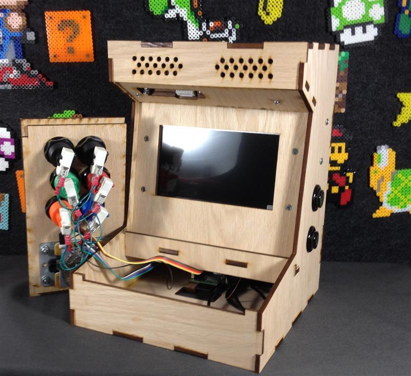 DIY Arcade Cabinet Kits  DIY Arcade Cabinet Kits more Porta Pi Arcade Kit