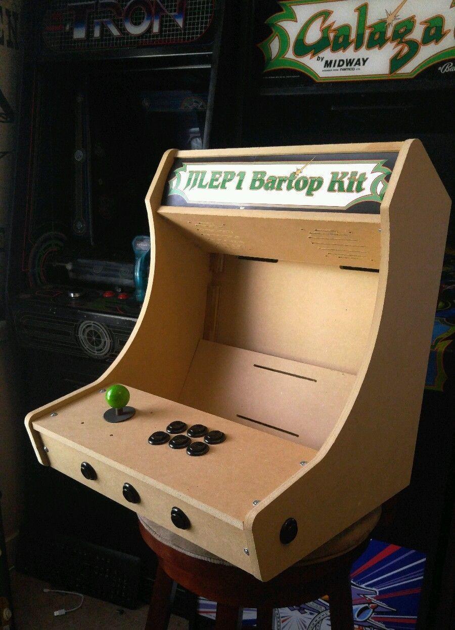 DIY Arcade Cabinet Kits  Bartop Tabletop Arcade Cabinet Diy Kit Flat Pack Mdf W