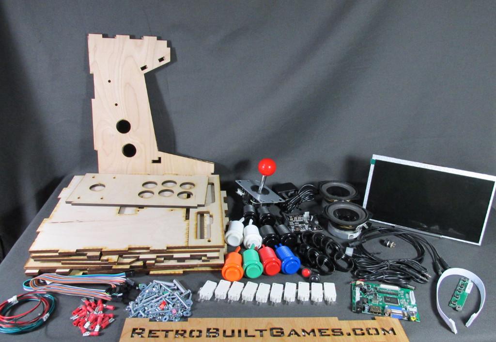 """DIY Arcade Cabinet Kits  DIY Arcade Cabinet Kits more Porta Pi Arcade 10"""" HD"""