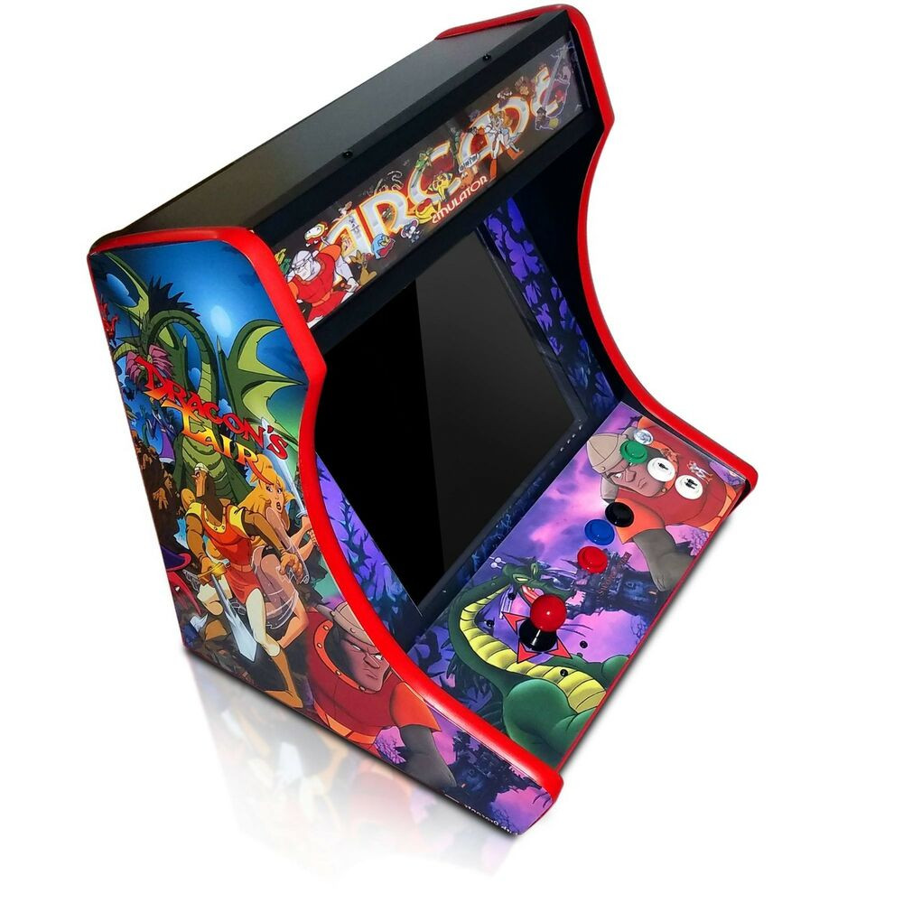 DIY Arcade Cabinet Kits  MDF Bartop Arcade Cabinet DIY Kit w T Molding Cuts