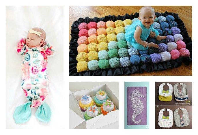 DIY Baby Gift Ideas  28 DIY Baby Shower Gift Ideas and Tutorials