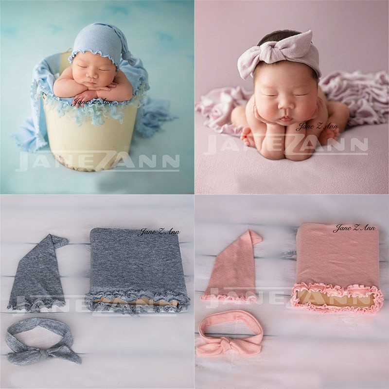 Diy Baby Photo Props  Jane Z Ann Baby Props Newborn graphy Wraps hat