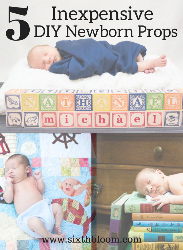 Diy Baby Photo Props  5 Inexpensive DIY Props for Newborn