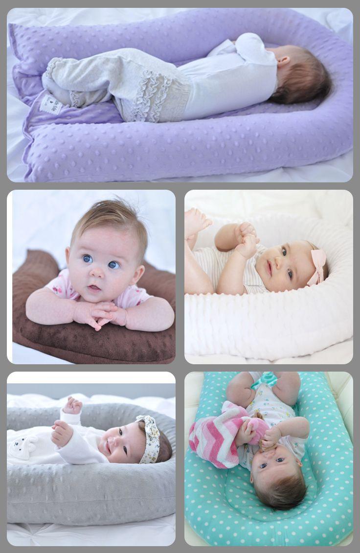 DIY Baby Pillows  Cosleep Pillow Brown Cosleeping Cradle Me Pillow