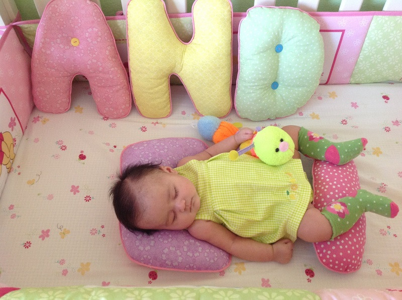 DIY Baby Pillows  Letter Pillows for a Sweet Baby Girl – Crazy for D I Y