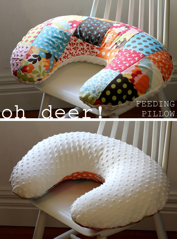 DIY Baby Pillows  thrift nest sew DIY boppy pillow