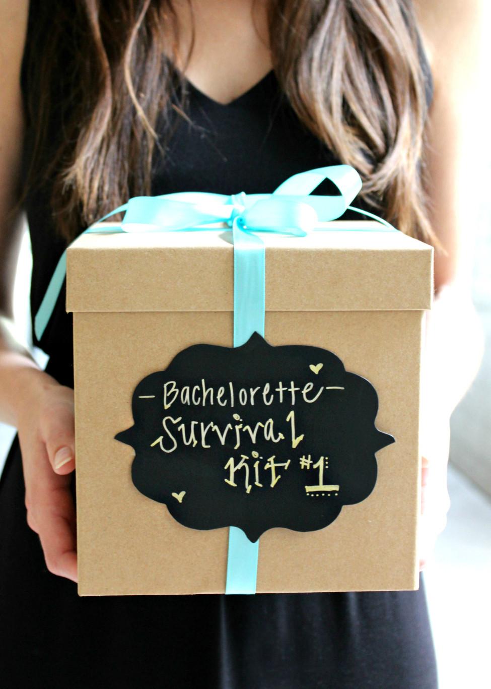 DIY Bachelorette Gift For Bride  DIY Bachelorette Survival Kit