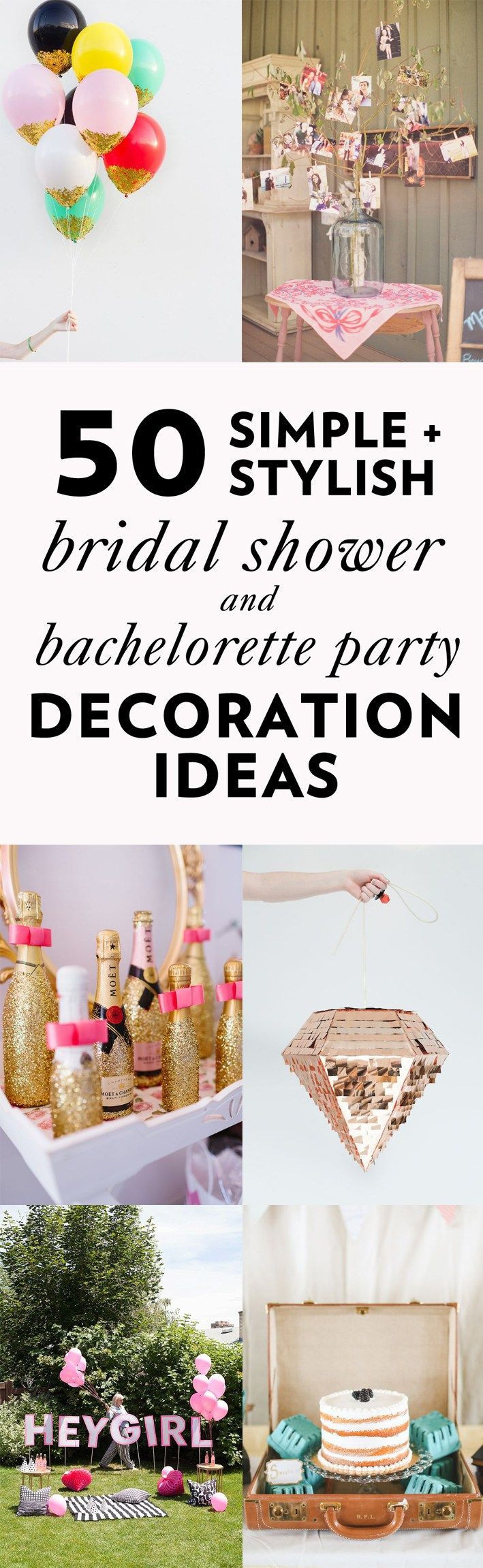 DIY Bachelorette Gift For Bride  50 Simple and Stylish DIY Bridal Shower & Bachelorette