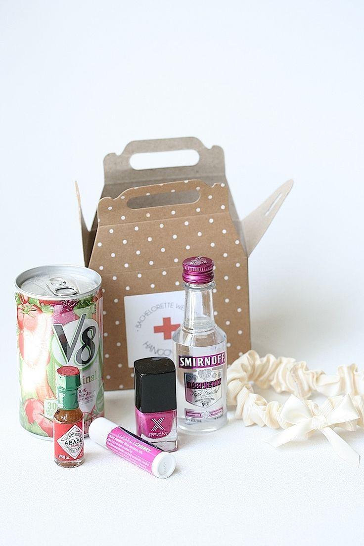 DIY Bachelorette Gift For Bride  DIY Bachelorette Hangover Kits