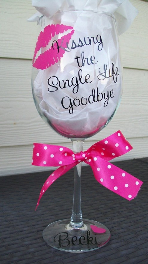 DIY Bachelorette Gift For Bride  DIY