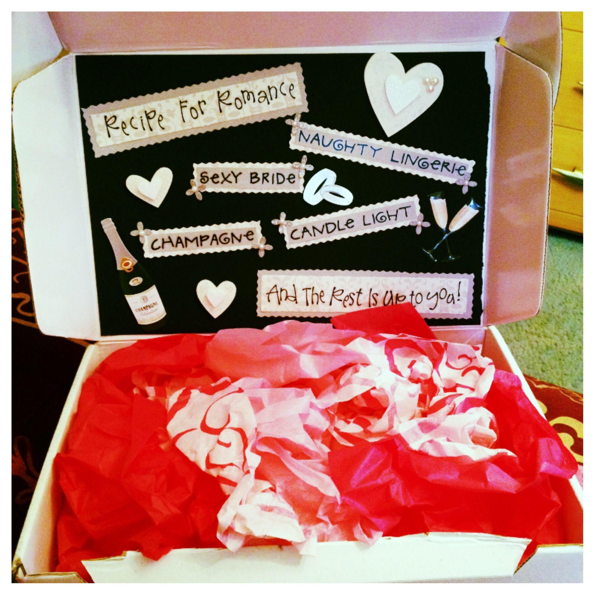 DIY Bachelorette Gift For Bride  Bachelorette Gift Idea A simple t I made for a friend s