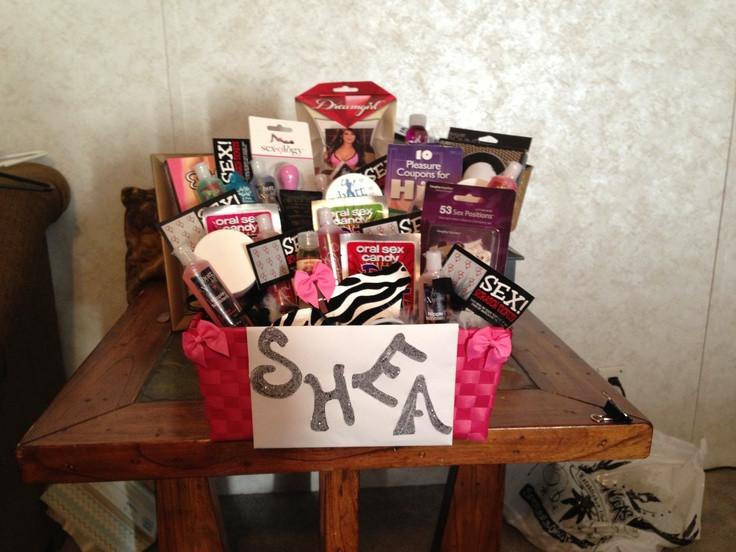 DIY Bachelorette Gift For Bride  Bachelorette t basket
