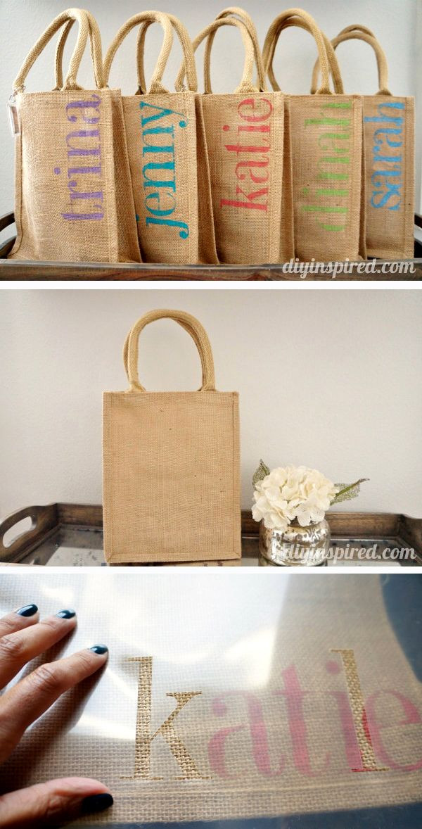 DIY Bachelorette Gift For Bride  DIY Bachelorette Party Favor Bags