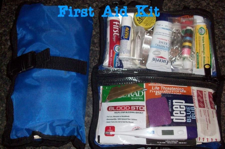 DIY Backpacking First Aid Kit  DIY First Aid Kit Great for camping& hiking first aid