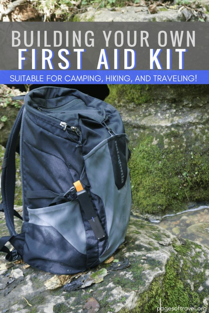 DIY Backpacking First Aid Kit  DIY A Suitable Travel Hiking & Camping First Aid Kit