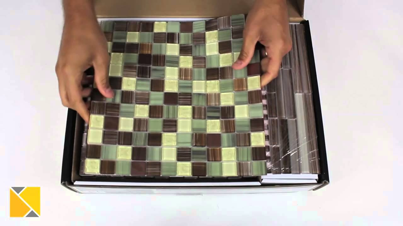 DIY Backsplash Kits  DIY Backsplash Peel and Stick Glass Tile Kit Review