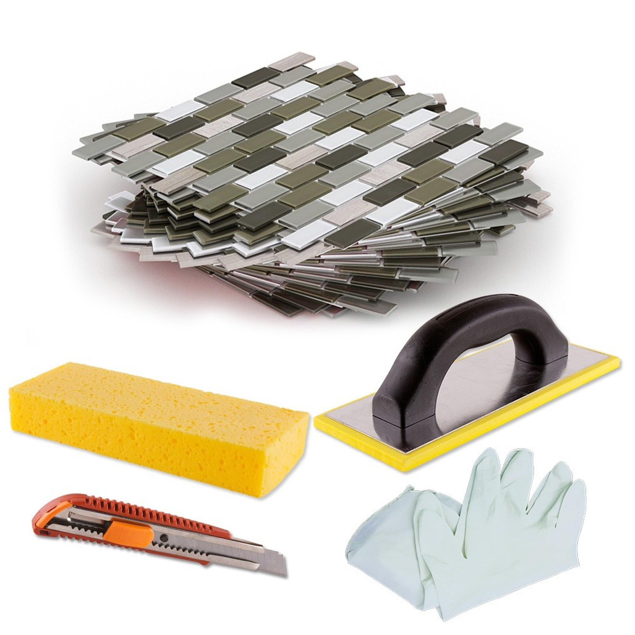 DIY Backsplash Kits  DIY Tile Backsplash Kit 15Ft Portofino
