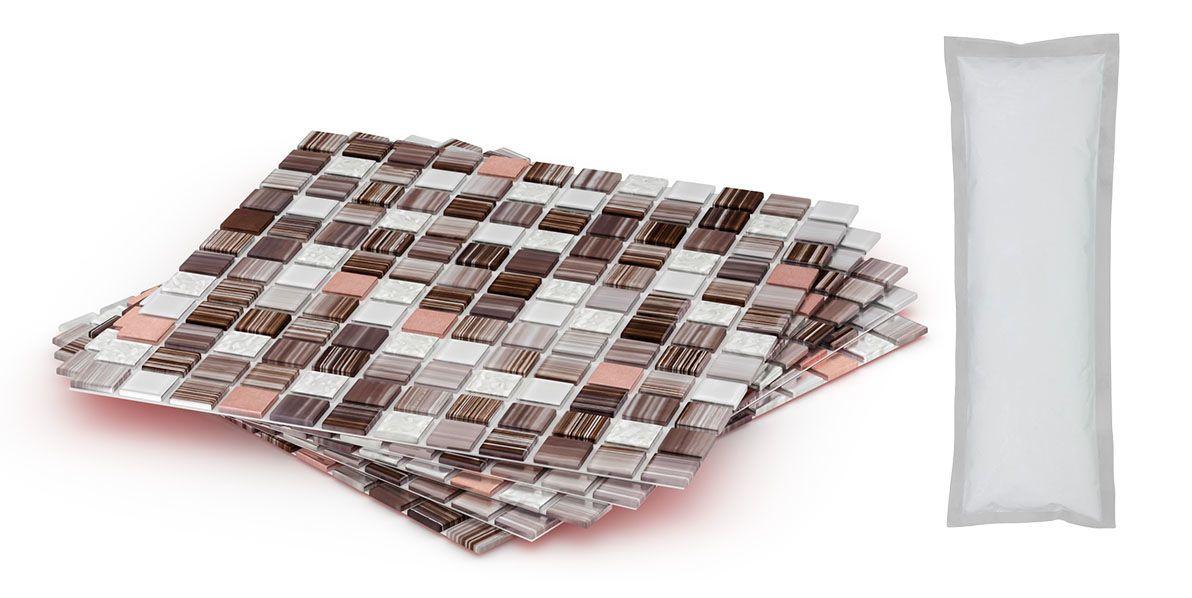 DIY Backsplash Kits  Mineral Tiles DIY Tile Backsplash Kit Add Pack 5Ft
