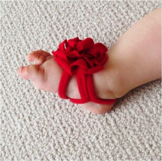 DIY Barefoot Sandals Baby  DIY Barefoot Baby Sandals Do It Yourself Fun Ideas
