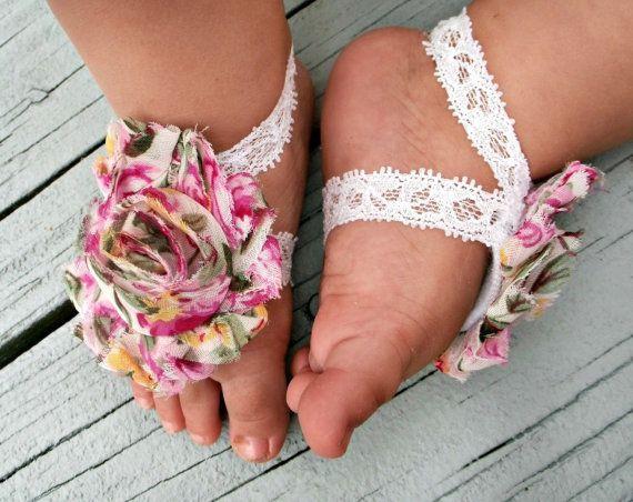 DIY Barefoot Sandals Baby  diy barefoot baby sandals