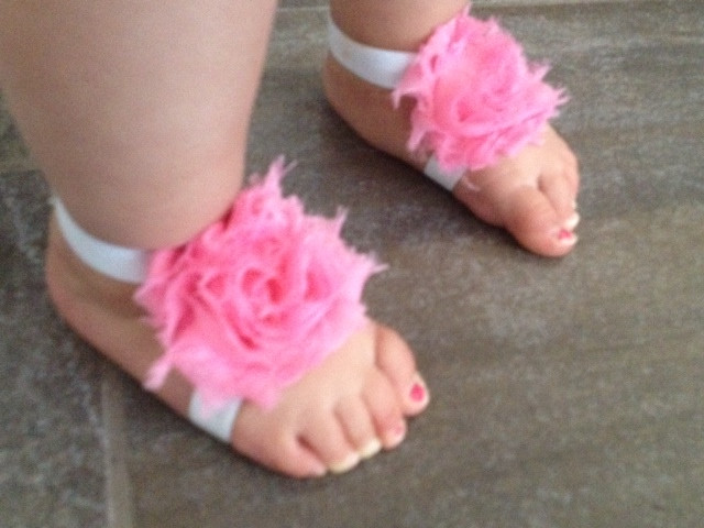 DIY Barefoot Sandals Baby  How to Make Barefoot Sandals for Babies Mother s Niche