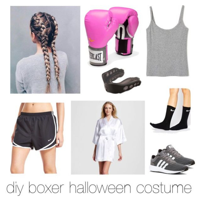 DIY Boxer Costume  Easy and Cheap DIY Halloween Costumes
