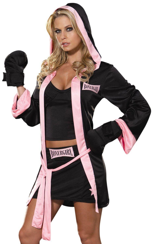 DIY Boxer Costume  Girl Boxer Halloween Costume