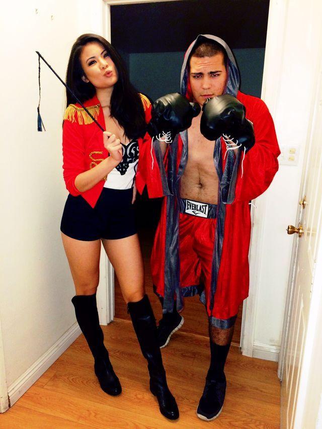 DIY Boxer Costume  86 best UFC octagon girls images on Pinterest