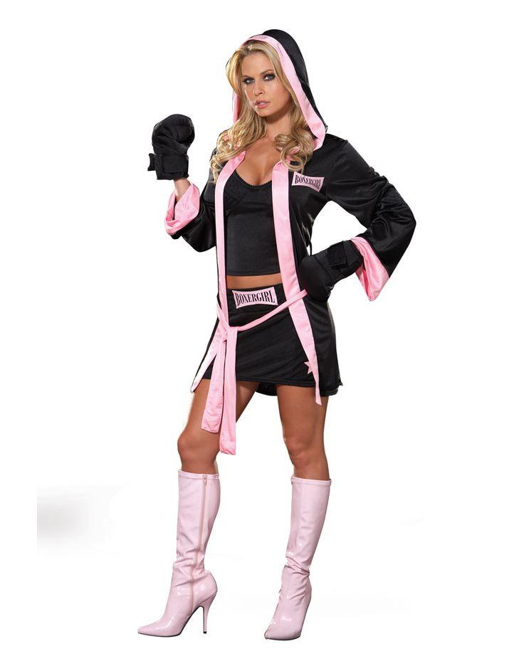 DIY Boxer Costume  Boxer Girl Adult Womens Costume – Spirit Halloween