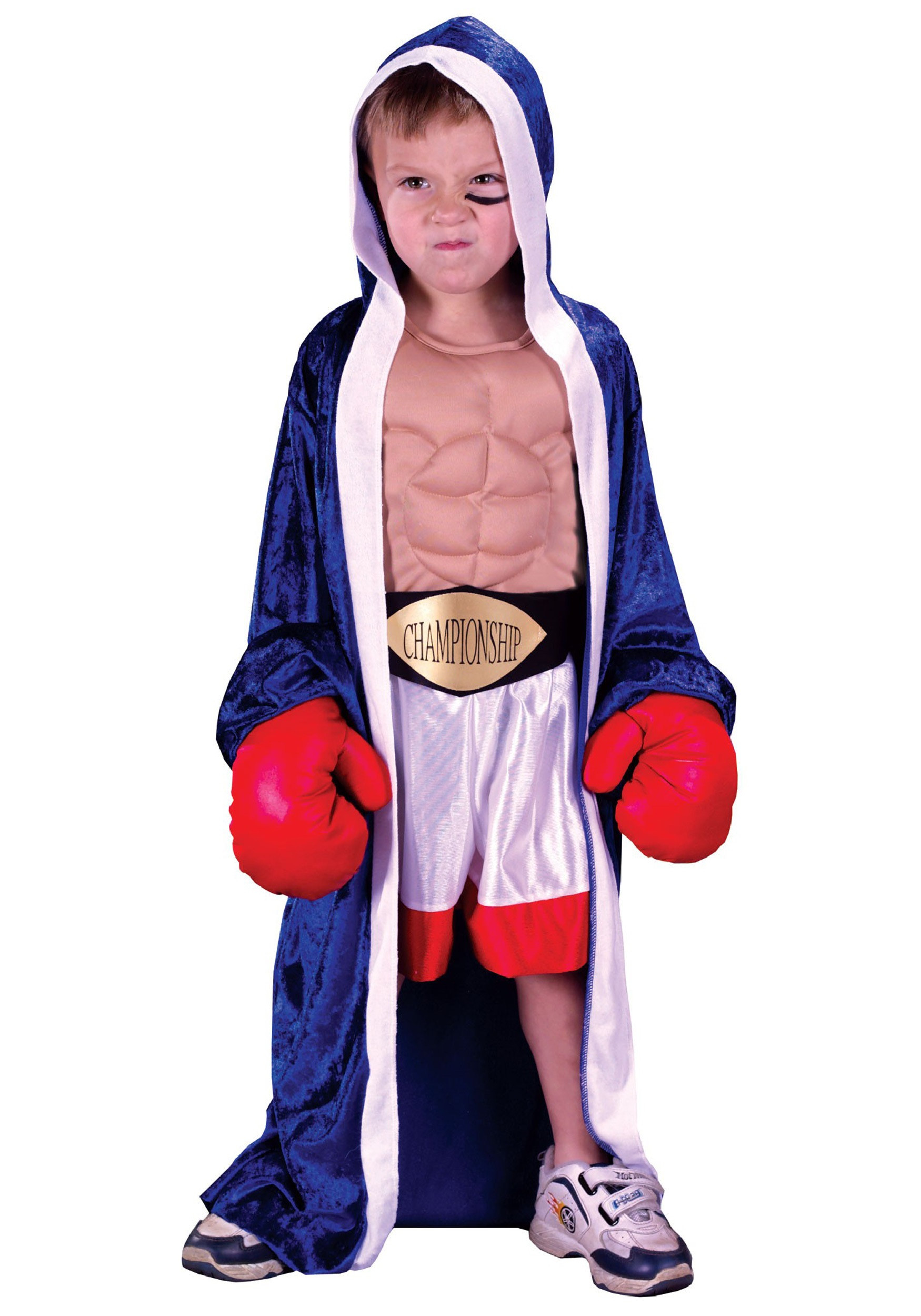 DIY Boxer Costume  Toddler Boxer Costume