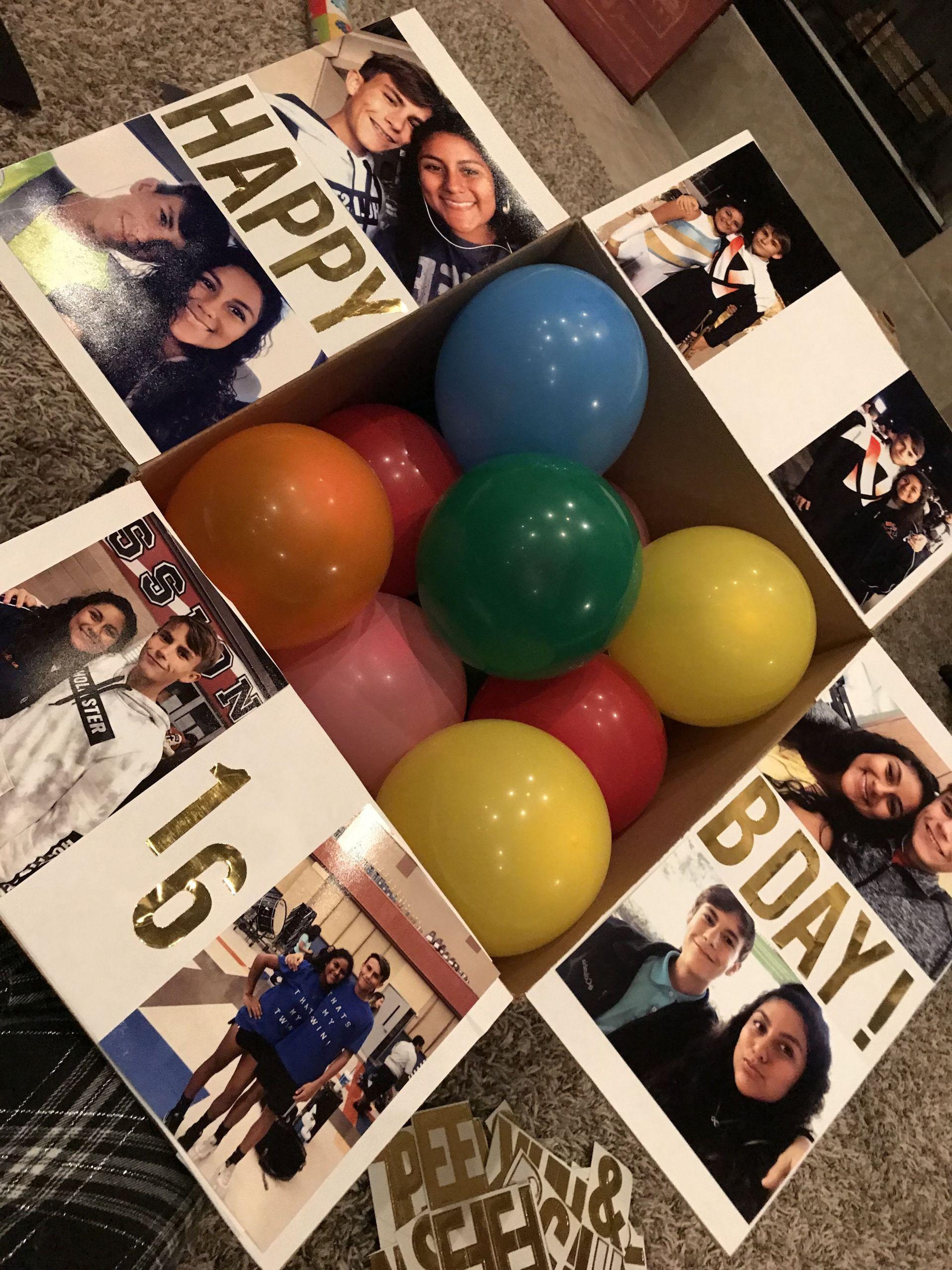 DIY Boyfriend Birthday Gifts  birthday ts boyfriend tsideas creative