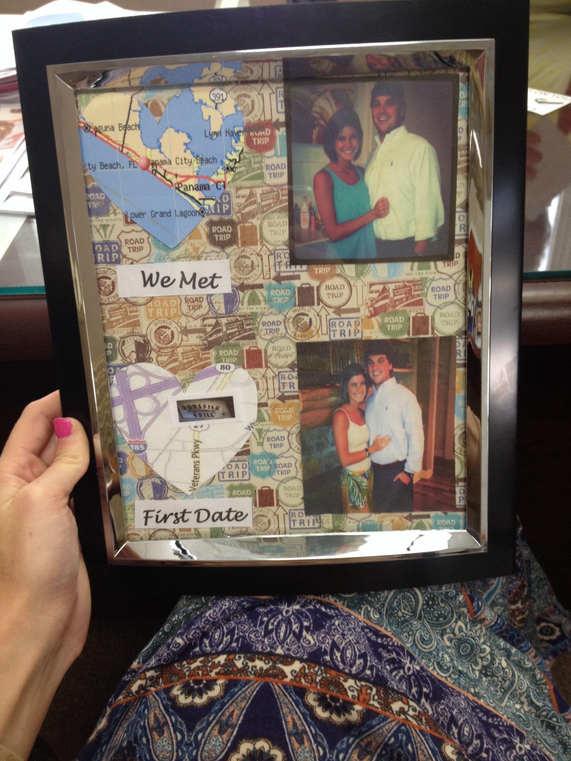 DIY Boyfriend Birthday Gifts  Pinterest Picture Frames For Boyfriend Easy Craft Ideas