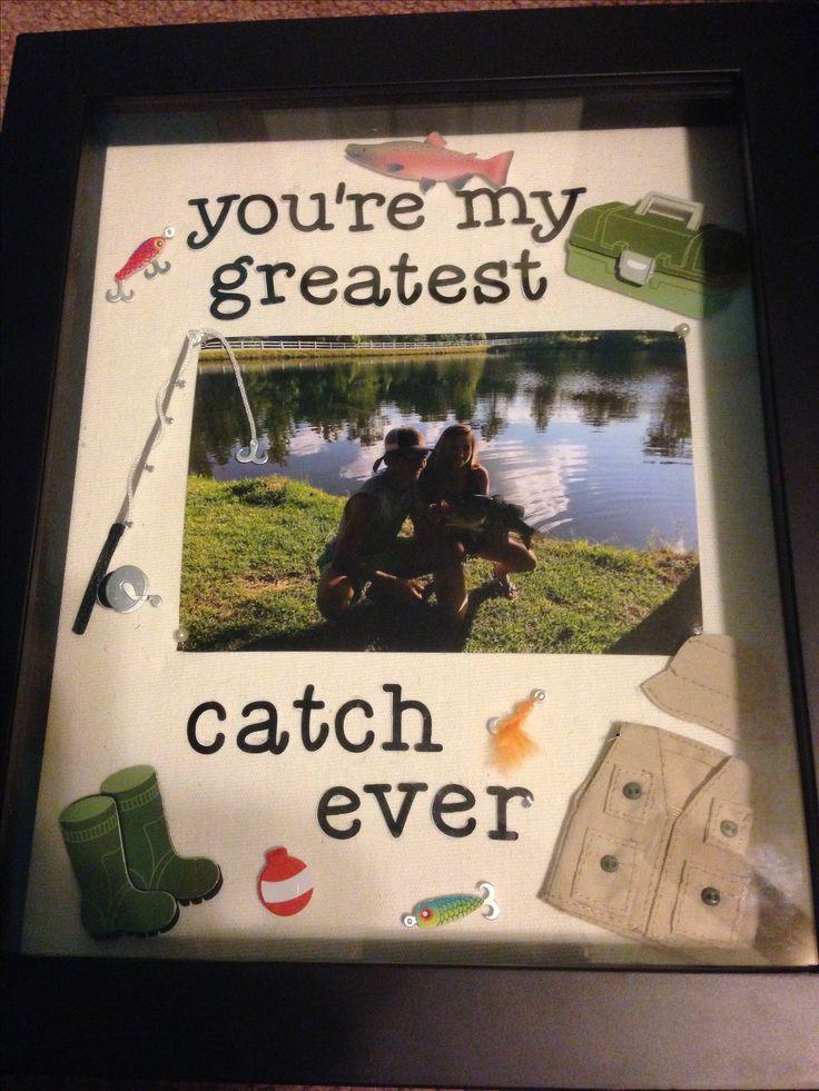 DIY Boyfriend Birthday Gifts  your my greatest catch ever ️ ️ diy boyfriend t
