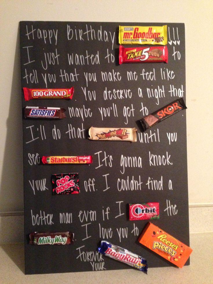 DIY Boyfriend Birthday Gifts  217 best Gifts for boyfriends images on Pinterest