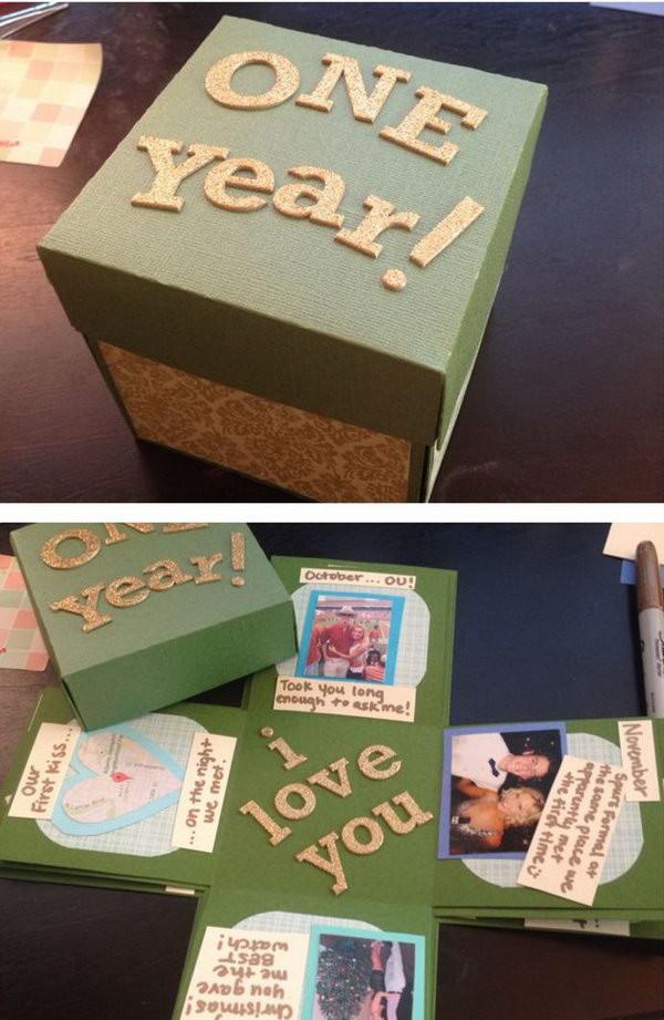DIY Boyfriend Birthday Gifts  30 DIY Gifts For Boyfriend