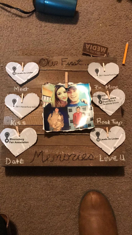 DIY Boyfriend Birthday Gifts  DIY t for him Valentine s Day anniversary surprise