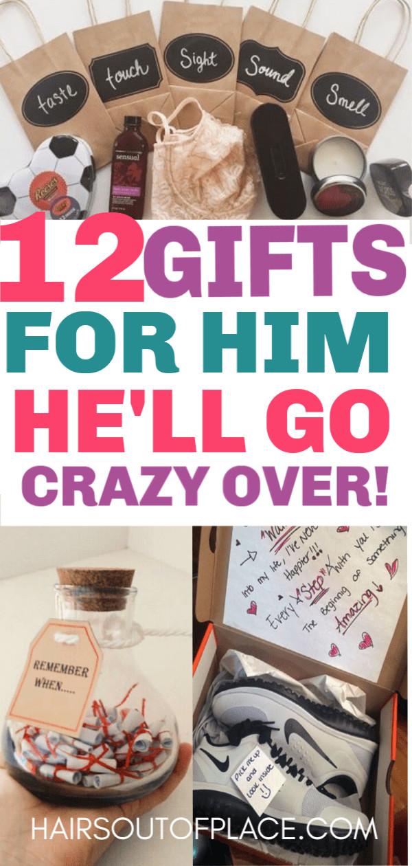 DIY Boyfriend Birthday Gifts  12 Cute Valentines Day Gifts for Him