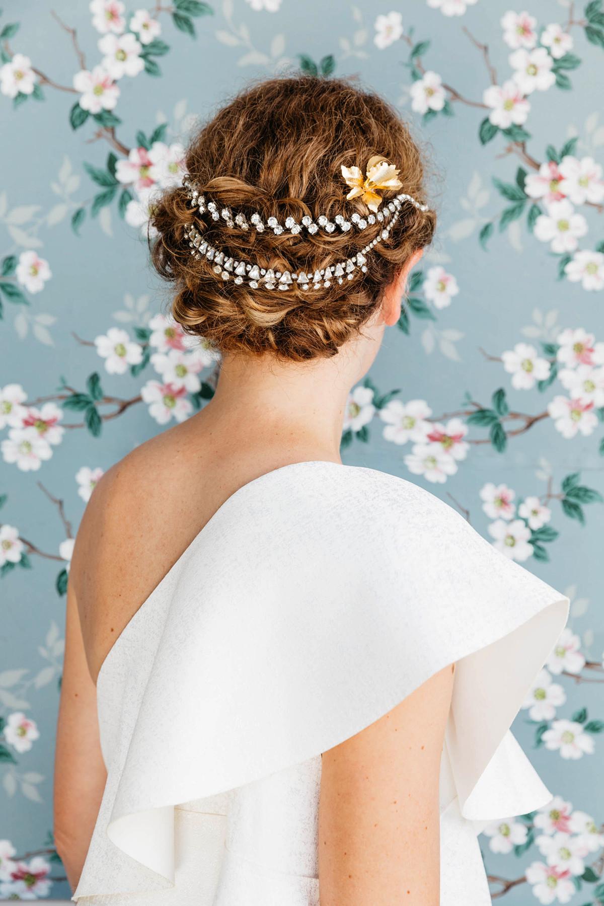 DIY Bridal Hair  DIY Hair Accessories With Vintage Jewelry – Honestly WTF