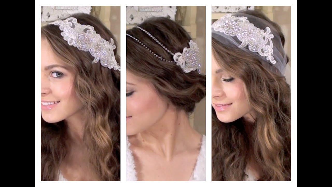 DIY Bridal Hair  DIY 3 Boho Bridal Hair Accessories