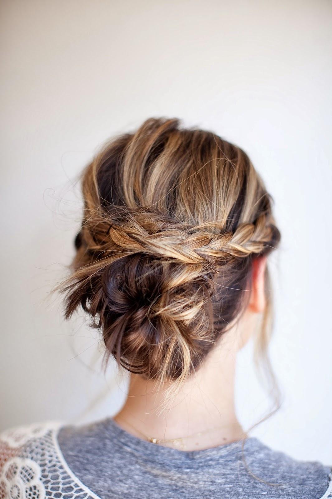 DIY Bridal Hair  TESSA RAYANNE THREE DIY Bridal Hair Tutorials