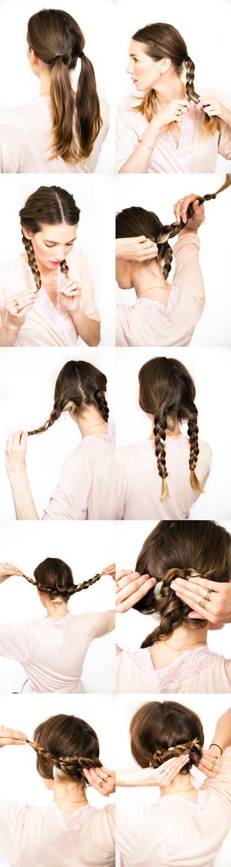 DIY Bridal Hair  12 DIY Braid Tutorials Great for Brides