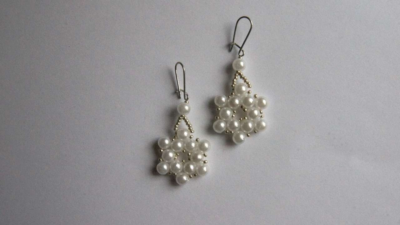 DIY Christmas Jewelry  How To Make Christmas Earrings DIY Style Tutorial