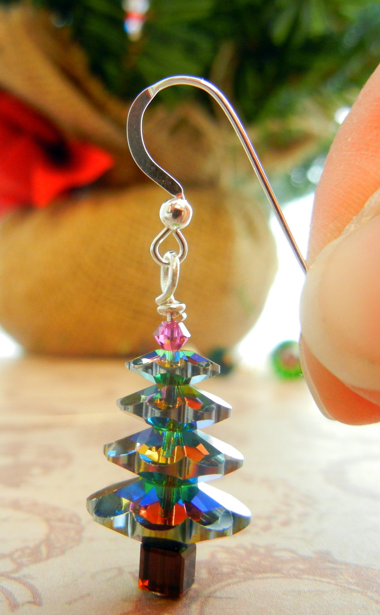 DIY Christmas Jewelry  Twelve Days of Christmas Jewelry Designs 1 – Swarovski