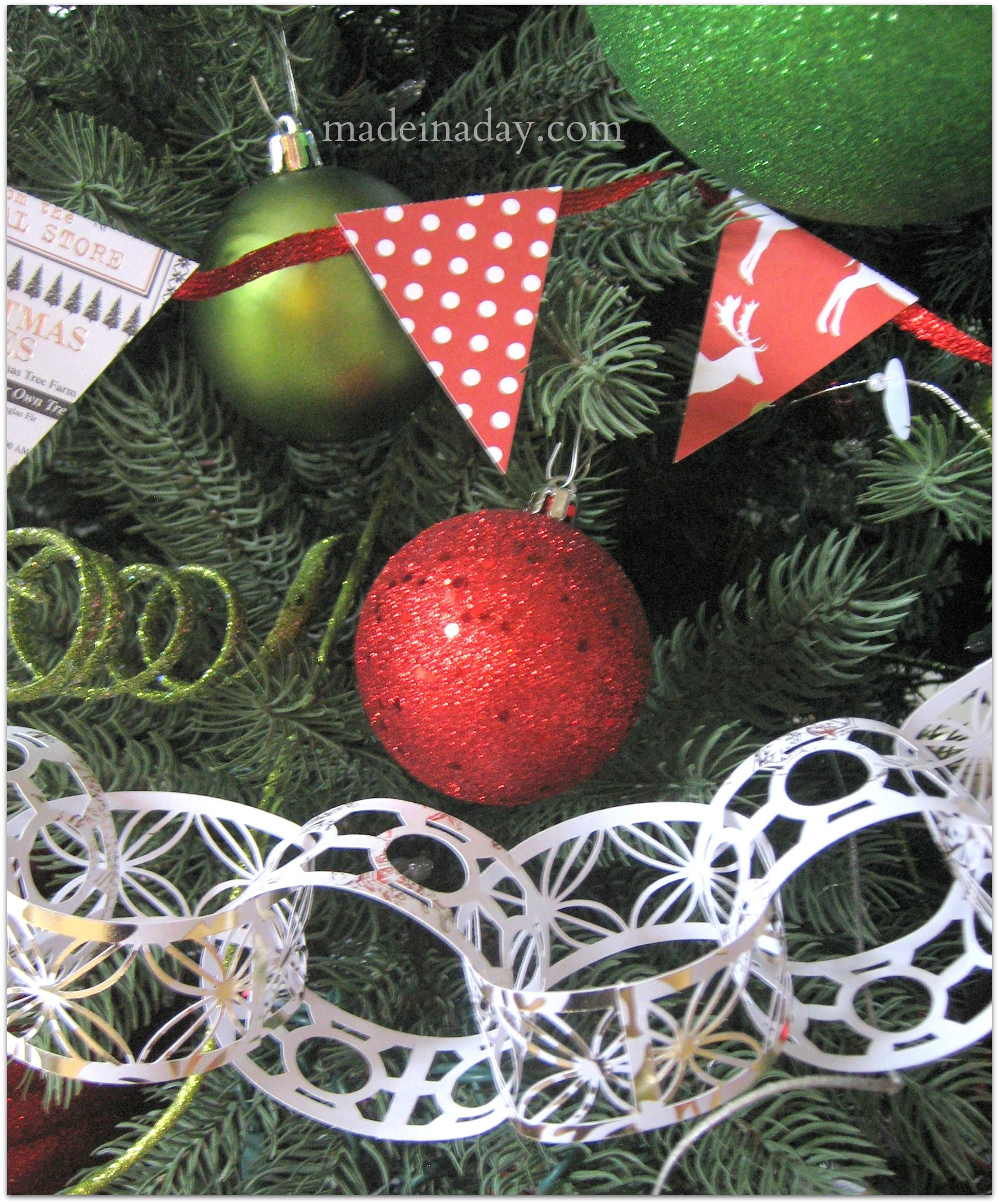 DIY Christmas Tree Garland  5 Easy Holiday Garlands