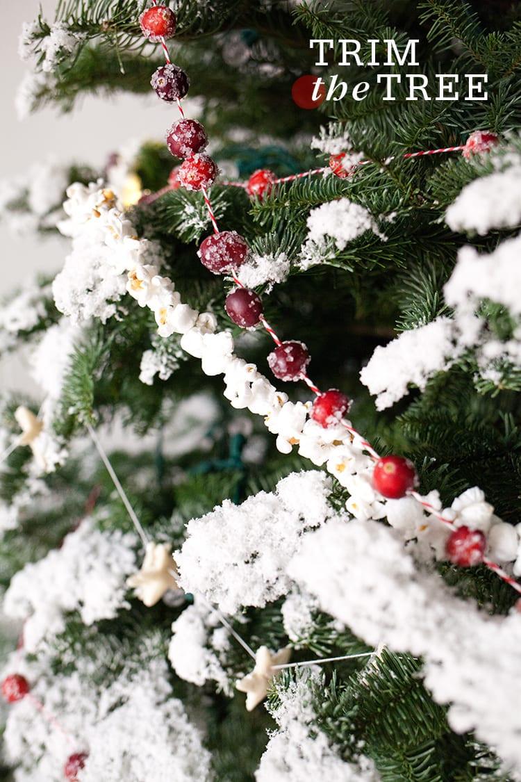 DIY Christmas Tree Garland  Four Homemade Garlands for your Christmas Tree