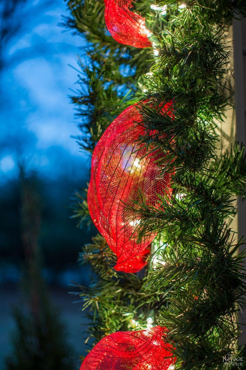 DIY Christmas Tree Garland  DIY Christmas Decor from an Old Fake Xmas Tree The